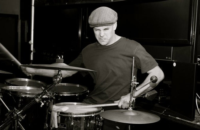 Mike on Drums